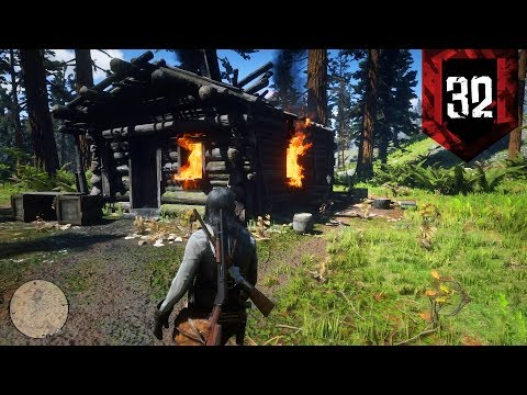Red Dead Redemption 2 - Part 32 - LIT HIS HOUSE ON FIRE