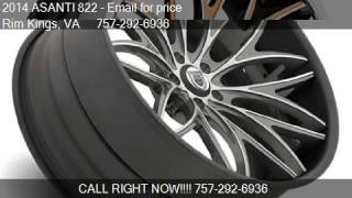 2014 ASANTI 822  for sale in Virginia Beach , VA 23451 at Ri