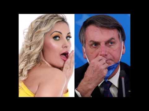 Andressa Urach volta a apoiar Bolsonaro nas redes sociais