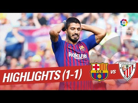 Resumen de FC Barcelona vs Athletic Club (1-1)