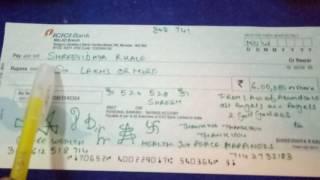 How To Write Your Abundance Cheque Shreevidhya