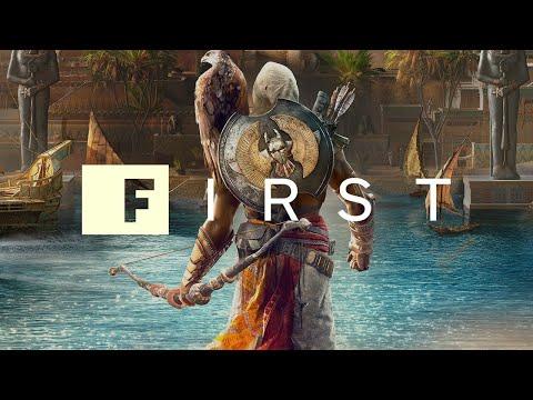 The Origin of Assassin's Creed Origins' Bayek and Senu – IGN First