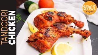 চুলায় তৈরি তান্দুরি চিকেন    No Oven Tandoori Chicken   Restaurant Style Tandoori Chicken Recipe - Video Youtube