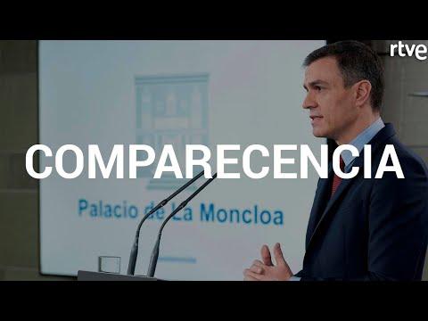 Directo: Pedro Sánchez anuncia las medidas del estado de alarma