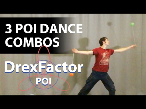 Learn To Poi Dance: How To Do 3 Combos With Choreography!