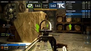 [CWL Pro League] OpTic Gaming vs. Team Kaliber Map 4 (FORMAL 50 BOMB?!)