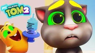 Мой Говорящий Том 2 НОВАЯ ИГРА #7 Друзья Анджела My Talking Tom 2 Игровой мультик для детей
