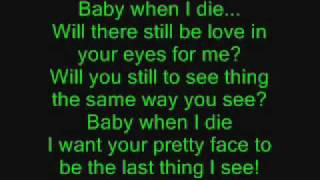 Lil Cuete - When I Die - Lyrics
