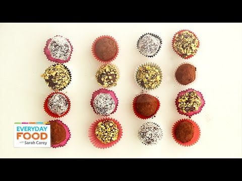 Easy Chocolate Truffles for Valentine's Day – Everyday Food with Sarah Carey