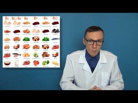 Биодобавки с витаминами Б - препараты БАД с B1, B2, B6, B12