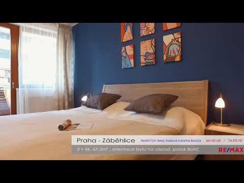 Video Prodej bytu 2+kk v osobním vlastnictví 67 m², Praha 10 - Záběhlice