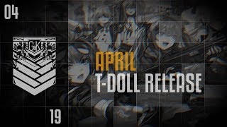 MDR  - (Girls' Frontline) - Girls' Frontline - 2019 April T-Dolls