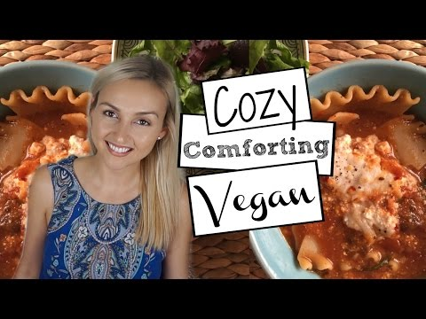 Vegan Lasagna Soup - Easy One Pot Recipe - Weeknight Dinners pt 4