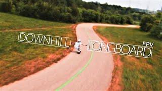 Longboarding Meets FPV Drones   Longboard vs Drones   Downhill Longboard FPV Chase