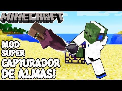Minecraft 1.12.1 MOD SUPER CAPTURADOR DE ALMAS! Soul Shards Mod Español!
