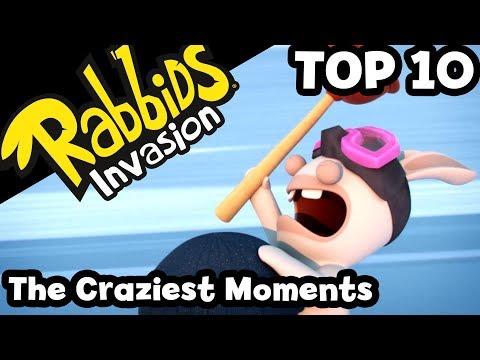 Rabbids Invasion - The Craziest Moments
