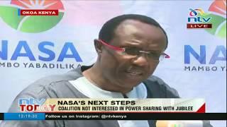Nasa scrambles to end split over Raila's oath bid - VIDEO