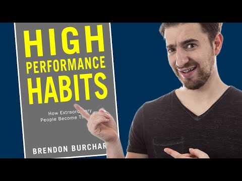 Book Review: High Performance Habits by Brendon Burchard