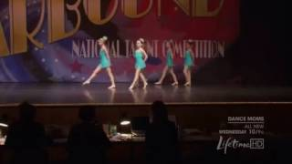 Dance moms group dance ups and downs