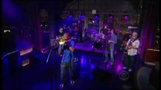 """Trombone Shorty & Orleans Avenue - """"One Night Only"""" 6/22 Letterman (TheAudioPerv.com)"""