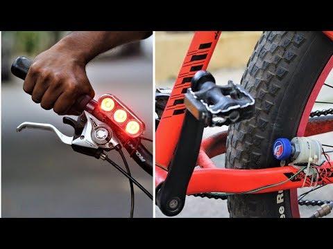 Free Energy Dynamo using DC Motor - Bicycle Generator