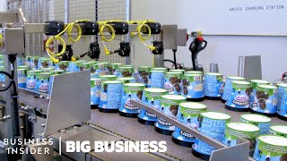 How Ben & Jerry's Makes Nearly One Million Pints A Day | Big Business