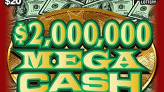 $2,000,000 Mega Cash Instant Lottery Ticket Winner #72
