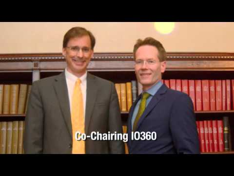 IO360 Co-Chairs, Dr Axel Hoos, GSK and Dr James Gulley, NCI Summarize Highlights of IO360