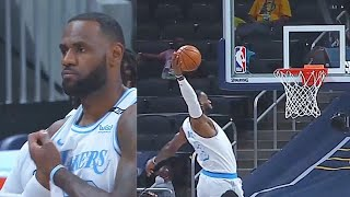 LeBron James Tryna Save Lakers With Return! Lakers vs Pacers