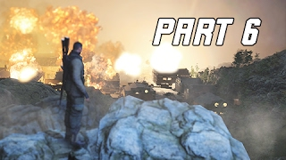 Sniper Elite 4 Walkthrough Part 6 - TYPHUS VACCINE (PS4 Pro Let's Play Commentary)