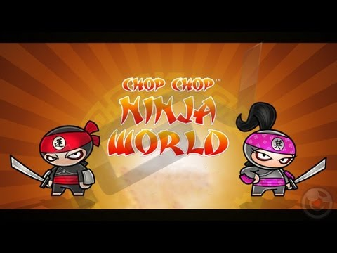 Chop Chop Ninja World - iPhone & iPad Gameplay Video