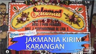 Jakmania Kirim Karangan Bunga ke Kantor Persija Jakarta, Hasil dari 3 Laga Tanpa Kemenangan