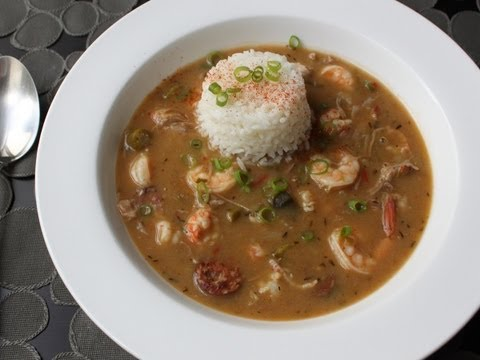 Duck Sausage Shrimp Gumbo Recipe – Cajun Gumbo with Andouille