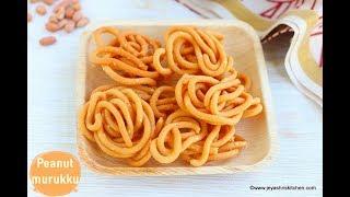 peanut murukku recipe - Jeyashris Kitchen