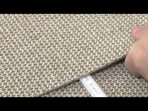 Installation guideline for Carpet Concept´s flat woven carpeting