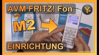 Einrichtung & Funktionen: AVM FRITZ! Fon M2 an der FRITZ! Box