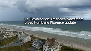Lt. Governor on America's Newsroom