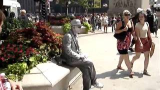 Statue Performer in Chicago--REALLY COOL!