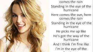 Hurricane Bridgit Mendler ( Lyrics )