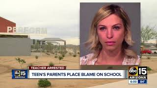 Parents of Goodyear teen sexually violated blame the school