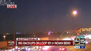 DPS investigating crash on Loop 101 at Indian Bend