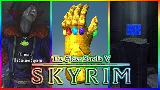 Skyrim SE: Infinity Stones and Infinity Gauntlet Mod (Xbox One/PC)