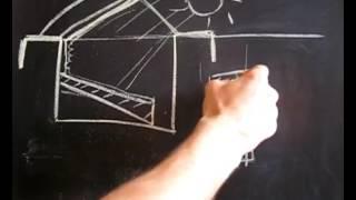Теплица-землянка для круглогодичного садоводства видео