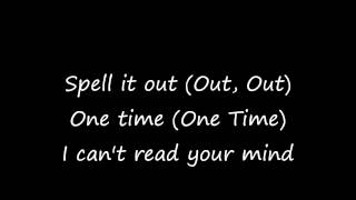 JLS- Spell it out with Lyrics