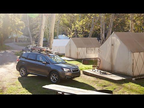 Subaru  Forester Паркетник класса J - рекламное видео 2
