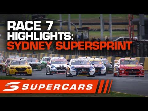 2020年 SUPERCARS シドニースーパースプリント #race7 レースハイライト動画