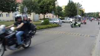 preview picture of video 'Parada '13 Zlot nad Wdą Czarna Woda'