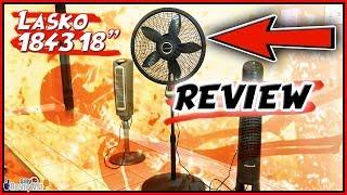 Review - Lasko 1843 18 inch Remote Control Cyclone Pedestal Fan Review