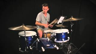 "COS Drum tutorial for ""We can change the world"""