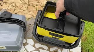 Kärcher Mobile Outdoor Cleaner OC 3 Adventure Box Unboxing und Test - perfekt für die Familie + Haus